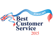 Best Customer Service 2015 finalist
